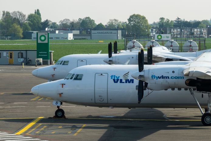 VLM Airlines ging deze week over de kop.