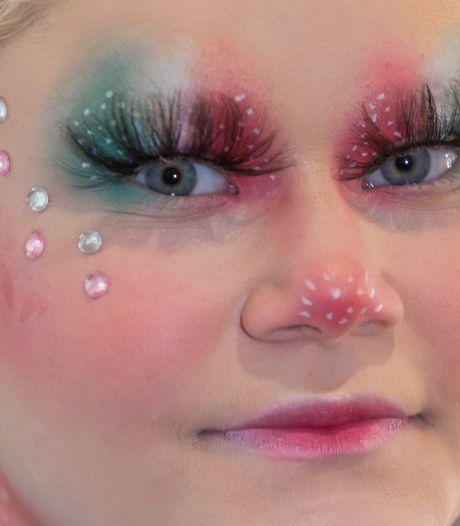 Amber (15) gooit hoge ogen bij Nikkie Tutorials' 'Make Up Cup'