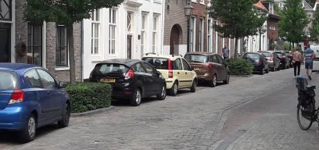 Parkeerders overspoelen binnenstad van Harderwijk
