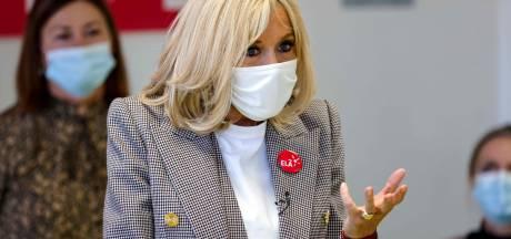 Brigitte Macron, cas contact au Covid-19, se met à l'isolement pendant sept jours
