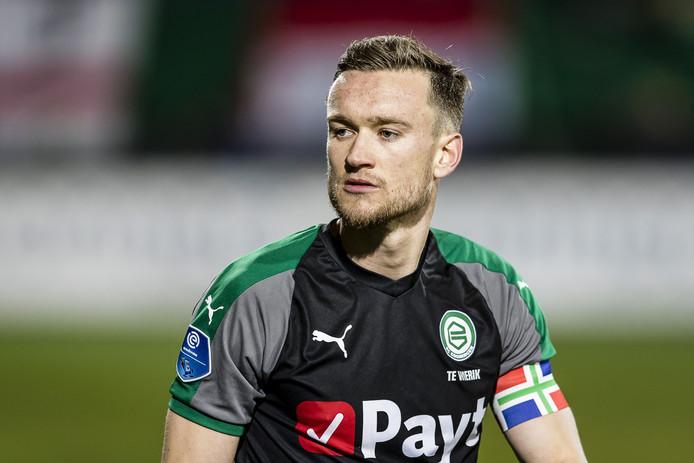FC  Groningen-aanvoerder Mike te Wierik.