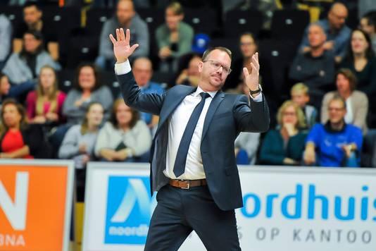 Donar-coach Erik Braal.