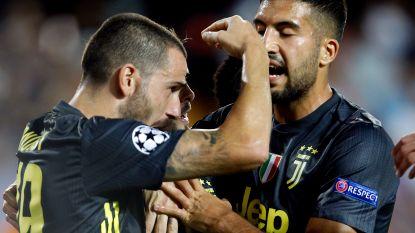 LIVE. Juventus klimt ondanks rood Ronaldo op dubbele voorsprong: Pjanic knalt tweede elfmeter binnen