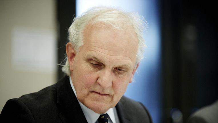 Burgemeester Pieter Broertjes van Hilversum. Beeld anp
