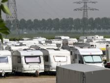 Stallen van caravans vergt meer ruimte