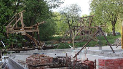 Historische Korenmolen in ere hersteld