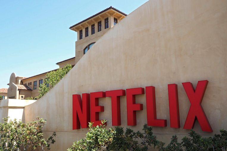 Het hoofdkantoor van Netflix in Los Gatos (Californië).