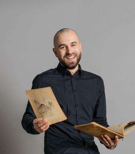 Koos (31) is kunstexpert bij Catawiki: 'Te gek om de kunstmarkt van alle kanten te zien'