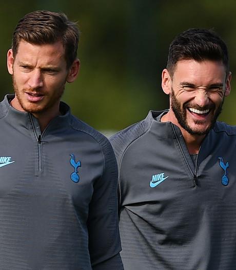 Hugo Lloris de retour à l'entraînement à Tottenham