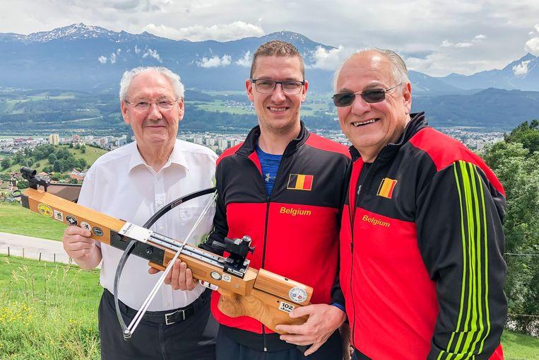 Arnold Van Aperen, Igor Sevenans en André Bols
