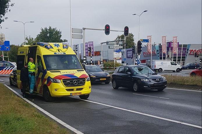 Vrijdagmiddag was er een ernstig ongeval in Soesterberg.