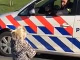 Meisje (3) op fiets doet wedstrijdje met politie