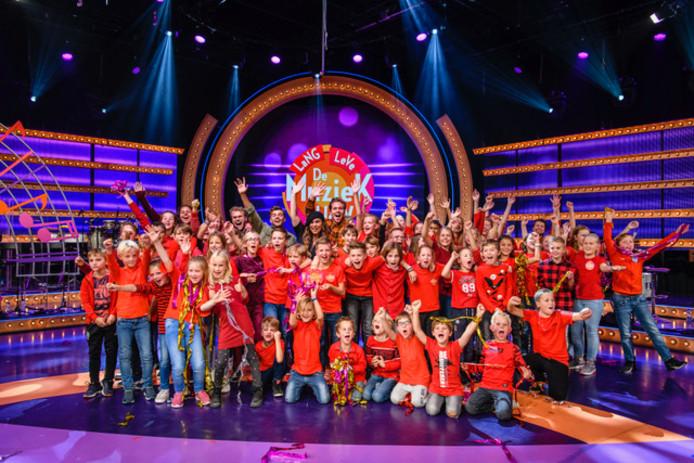 St. Aloysiusschool uit Baarn wint Lange Leve de Muziek Show