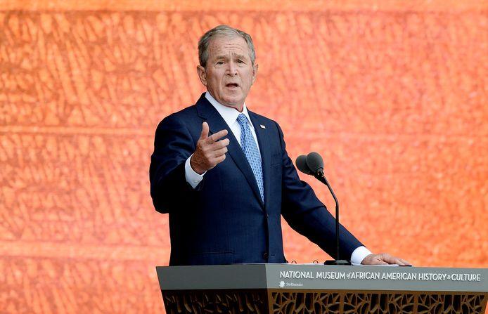 George Bush op archiefbeeld