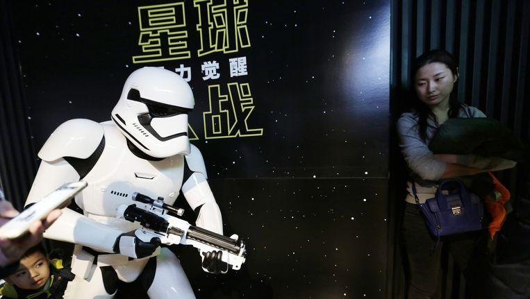 Star Wars in Peking, 9 januari 2016 Beeld epa