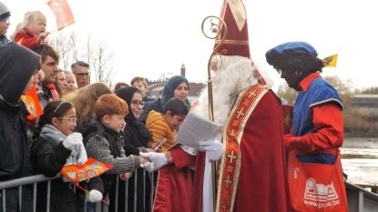 Sinterklaas meert zaterdag aan