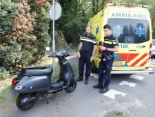 Vrouw gewond door ongeluk met scooter in Mill