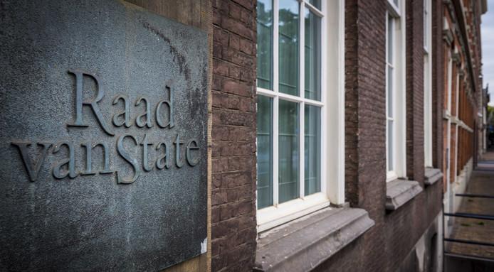 Raad van State in Den Haag.