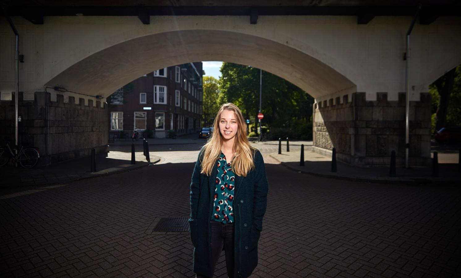 Shelley Barendregt: ,,Hoe dan ook blijven we in de stad wonen. We houden van de Rotterdamse mentaliteit.''