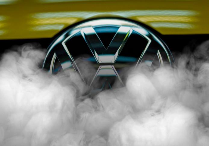 Het effect van uitlaatgassen van een Volkswagen Beetle TDI werd niet alleen op dieren, maar ook op mensen getest.