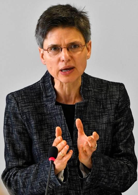 De Antwerpse gouverneur Cathy Berx