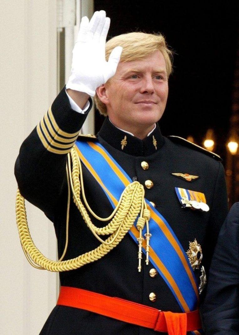 Prins Willem-Alexander. Beeld epa
