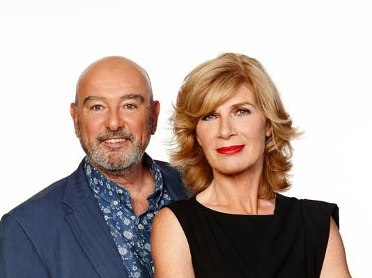Peter de Bie en Mieke van der Weij.
