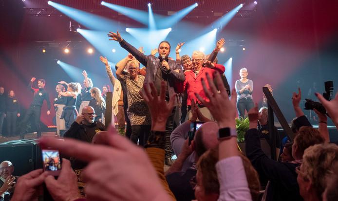 Met Frans Bauer ging het dak er vorig jaar af bij Goud voor Oud. De populaire volkszanger is 23 januari tijdens de laatste editie van het muziekfeest weer van de partij.