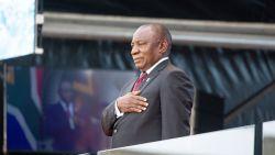 Zuid-Afrikaanse president Ramaphosa beëdigd