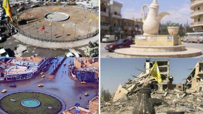 #10YearChallenge: 10 jaar oorlog, ruïnes en verdriet in beeld