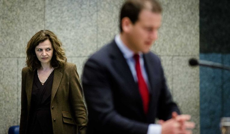 Minister Edith Schippers (L). Beeld anp
