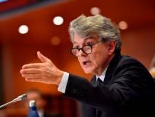 Les eurodéputés valident la candidature de Thierry Breton à la Commission européenne