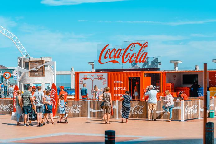 Le Beach Bar de Coca-Cola.