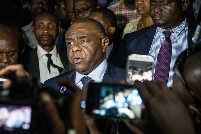 De Congolese oppositieleider Jean-Pierre Bemba, in wiens zaak het Internationaal Strafhof maandag een belangrijke uitspraak moet doen.