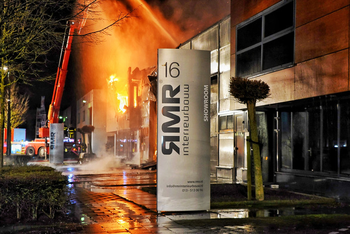 Brand in Moergestel.