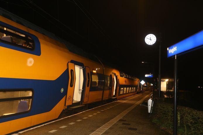 Het spoor tussen Den Bosch en Vught wordt uitgebreid.
