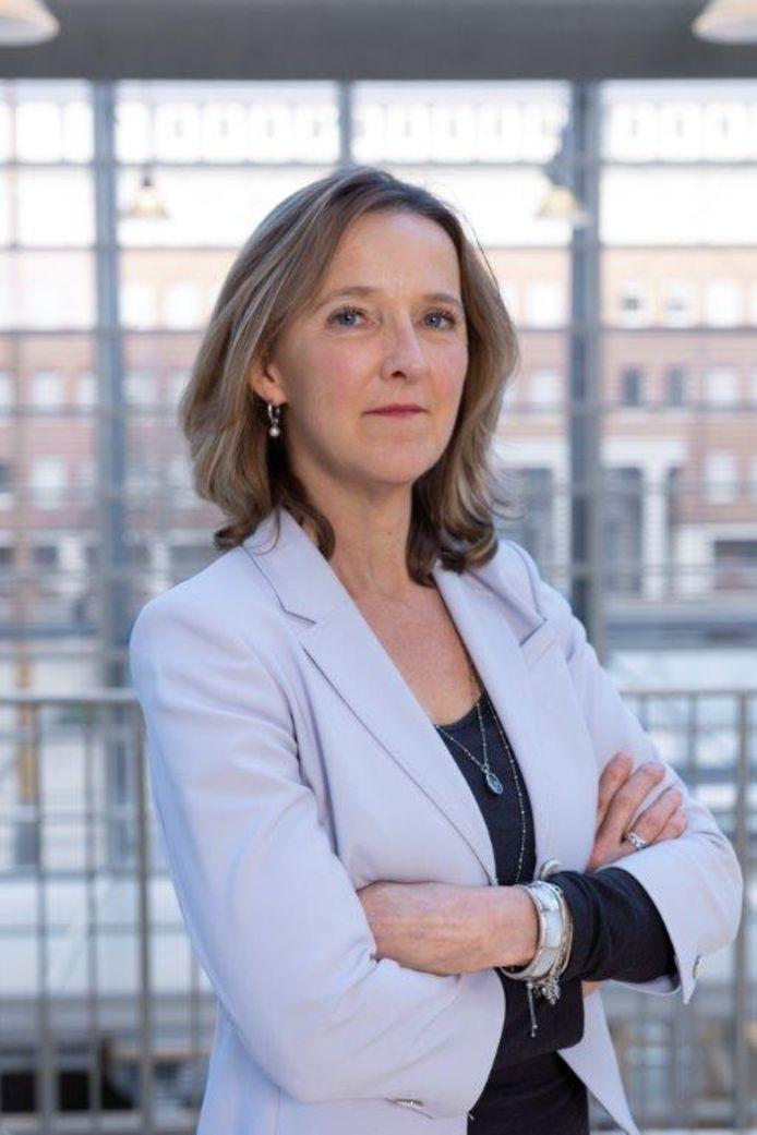 Hoofdofficier Heleen Rutgers van het Openbaar Ministerie in Oost-Brabant.