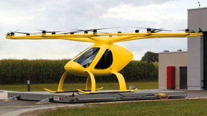 Duitse spoedarts met elektrische helikopter naar ongeval