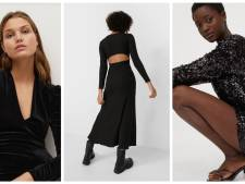 Dix robes noires à moins de 30 euros pour passer les fêtes de fin d'année avec style