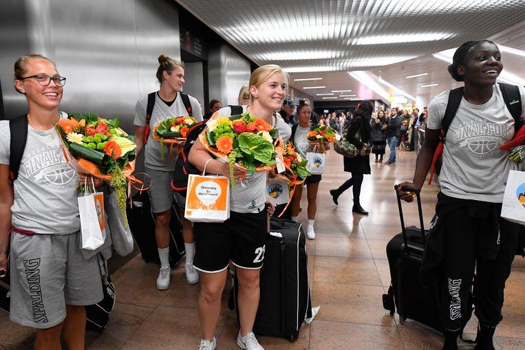 Hanne Mestdagh en co kregen een warme ontvangst.
