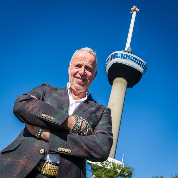Willem Tieleman heeft zijn Euromast in stilte verkocht aan het Franse familiebedrijf M56 Groep