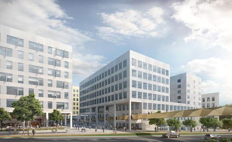 Post X, een gloednieuwe kantoorsite in Berchem