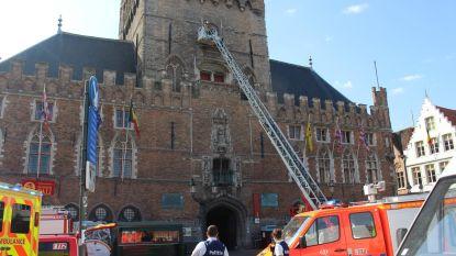 Brandweer evacueert onwel geworden toerist uit Belfort