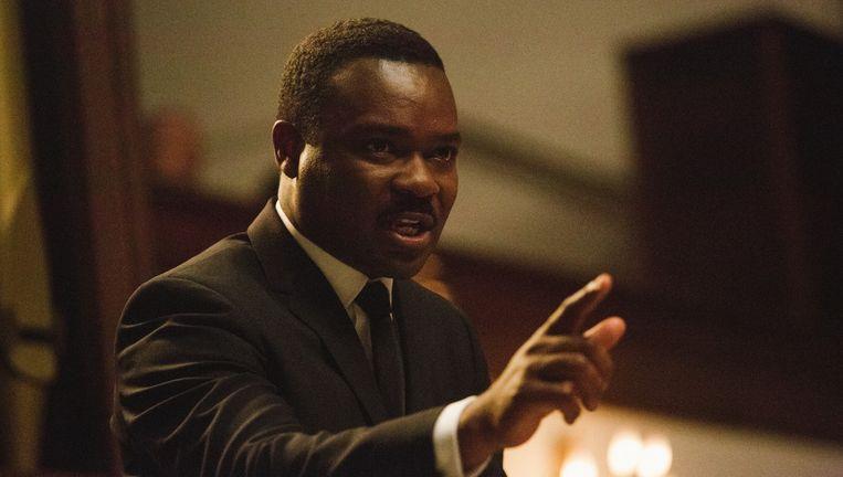 David Oyelowo als Martin Luther King in Selma. Beeld Atsushi Nishijima