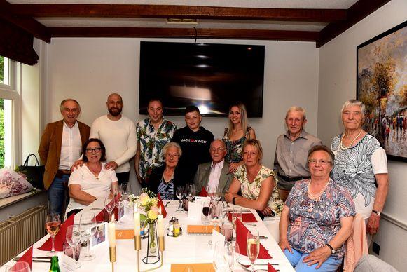 De familie Chantrain vierde feest