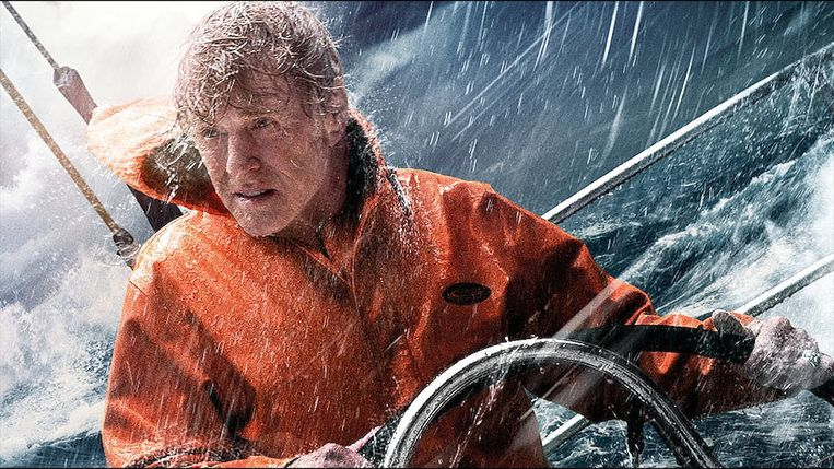 Redford in All is Lost.  Beeld