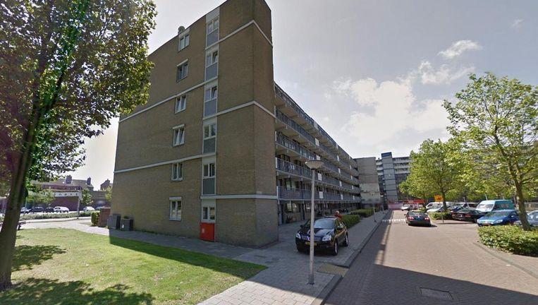 A. el B. is beschoten op de Beukenhorst in Diemen. Beeld Google Streetview