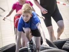 Hitte deert deelnemers Rijssense Obstaclerun niet