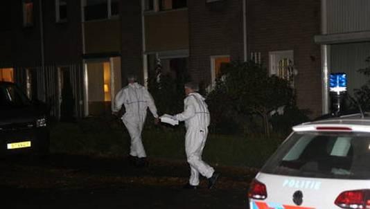 De recherche deed gisteravond uitvoering onderzoek in de woning aan de Frans Tromplaan