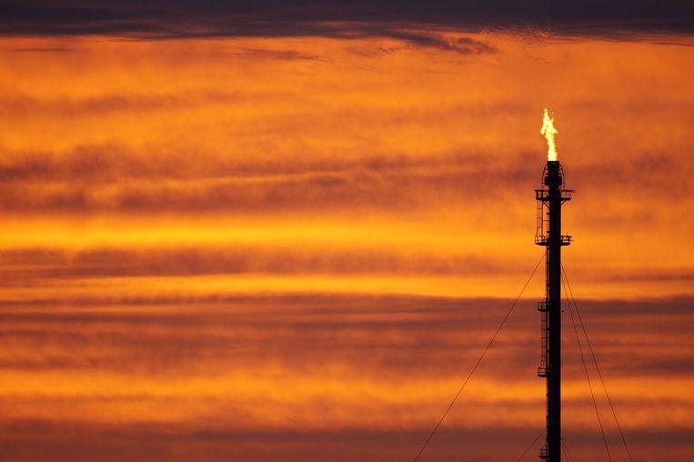 Olie raffinaderij in Donges, Frankrijk. Beeld anp